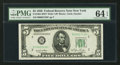 Small Size:Federal Reserve Notes, Fr. 1961-B* $5 1950 Wide I Federal Reserve Star Note. PMG Choice Uncirculated 64 EPQ.. ...