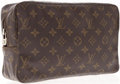 Luxury Accessories:Travel/Trunks, Louis Vuitton Classic Monogram Canvas Toiletry Pouch Bag. ...