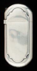 Silver Smalls:Match Safes, A GORHAM SILVER MATCH SAFE . Gorham Manufacturing Co., Providence,Rhode Island, circa 1886. Marks: (lion-anchor-G), STERL...