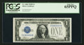 Small Size:Silver Certificates, Fr. 1604 $1 1928D Silver Certificate. PCGS Gem New 65PPQ.. ...