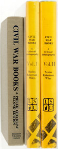 Books:Books about Books, [Books About Books]. Group of Three Books on Civil War Books, Including: Tom Broadfoot and Marianne Pair: Civil War Book... (Total: 3 Items)