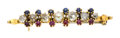 Estate Jewelry:Brooches - Pins, Diamond, Sapphire, Ruby, Seed Pearl, Gold Brooch. ...