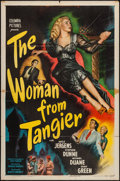 """Movie Posters:Crime, The Woman from Tangier (Columbia, 1948). One Sheet (27"""" X 41"""").Crime.. ..."""
