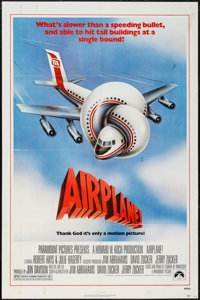 "Airplane! (Paramount, 1980). One Sheet (27"" X 41""). Comedy"
