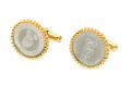 Estate Jewelry:Cufflinks, Platinum, Gold Cuff Links. ...