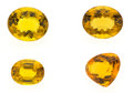 Estate Jewelry:Unmounted Gemstones, Unmounted Citrine. ... (Total: 4 Items)