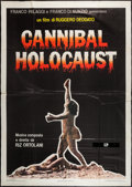 "Movie Posters:Horror, Cannibal Holocaust (United Artists, 1980). Italian 4 - Foglio (54"" X 77""). Horror.. ..."
