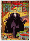 Golden Age (1938-1955):Classics Illustrated, Classic Comics #3 The Count of Monte Cristo - (2nd edition - HRN10) (Elliot, 1942) Condition: FN+....