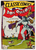 Golden Age (1938-1955):Classics Illustrated, Classic Comics #11 Don Quixote - First Edition (Gilberton, 1943) Condition: GD/VG....