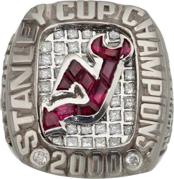 2000 New Jersey Devils Stanley Cup Championship Ring.... Hockey ... dee7fbcc0