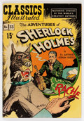 Golden Age (1938-1955):Classics Illustrated, Classics Illustrated #33 Adventures of Sherlock Holmes - (3rdedition - HRN 71) (Gilberton, 1947) Condition: FN+....