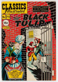 Golden Age (1938-1955):Classics Illustrated, Classics Illustrated #73 The Black Tulip - First Edition(Gilberton, 1950) Condition: FN....