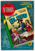 Golden Age (1938-1955):Classics Illustrated, Stories by Famous Authors Illustrated #2 Captain Blood (SeaboardPub., 1950) Condition: VF-....