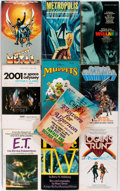 Books:Literature Pre-1900, Group of Ten Reprinted or Novelized Science Fiction FilmPaperbacks. Various Publishers, 1963-1982. Includes the novelizedv... (Total: 10 Items)