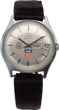 Hockey Collectibles:Others, 1980 Phil Verchota Presentational United States Olympic TeamWristwatch. ...