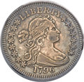 Early Quarters, 1796 25C XF40 PCGS. B-2, R.3....
