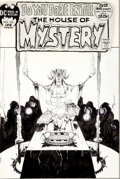 Original Comic Art:Covers, Michael W. Kaluta House of Mystery #202 Cover Original Art(DC, 1972)....
