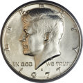 Kennedy Half Dollars, 1977-D 50C -- Struck on a 40% Silver Planchet -- MS62 PCGS....