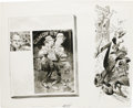 Original Comic Art:Panel Pages, Jack Davis - Mad #166 Page Original Art, Group of 5 (EC, 1974).Take a chance with these five pages of Jack Davis illustrati...(Total: 5 Items)