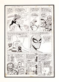 Original Comic Art:Panel Pages, Jack Kirby and Steve Ditko - Fantastic Four Annual #1, page 6Original Art (Marvel, 1963). Don't miss your chance to own thi...