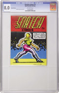 """Silver Age (1956-1969):Alternative/Underground, Snatch Comics #1 Second Printing (Apex Novelties, 1968) CGC VF 8.0Off-white pages. Find out what those """"hippy chicks"""" do wh..."""