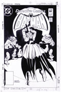 Original Comic Art:Covers, Gene Colan and Dick Giordano - Detective Comics #531 Cover OriginalArt (DC, 1986). Send in the clowns -- the killer clowns,...