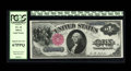 Large Size:Legal Tender Notes, Fr. 34 $1 1880 Legal Tender PCGS Superb Gem New 67PPQ. Wellmargined for a plate position C note. The great eye appeal stems...