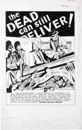 "Original Comic Art:Complete Story, Fox Comics Artist - Murder Incorporated, Complete 12-page Story""The Dead Still Can Deliver"" Original Art (Fox Comics, undated...(Total: 12 Items)"