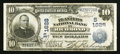 National Bank Notes:Virginia, Richmond, VA - $10 1902 Date Back Fr. 617 The Planters NB Ch. #(S)1628. ...