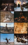 "Movie Posters:Action, Conan the Barbarian (Universal, 1982). Deluxe Lobby Card Set of 8(11"" X 14""). Action.. ... (Total: 8 Items)"