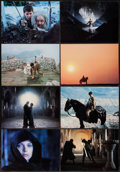 """Movie Posters:Fantasy, Ladyhawke (Warner Brothers, 1985). Deluxe Lobby Card Set of 8 (10"""" X 14""""). Fantasy.. ... (Total: 8 Items)"""