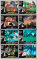 "Movie Posters:Animation, Watership Down (Avco Embassy, 1978). Lobby Card Set of 8 (11"" X 14""). Animation.. ... (Total: 8 Items)"