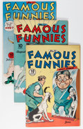 Golden Age (1938-1955):Miscellaneous, Famous Funnies Group (Eastern Color, 1943-46) Condition: Average FN.... (Total: 13 Comic Books)