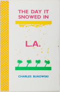 Books:Literature 1900-up, Charles Bukowski. SIGNED. The Day It Snowed in L.A. SuttonWest: The Paget Press, 1986. One of Two Hundred Deluxe Co...