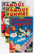 Golden Age (1938-1955):Miscellaneous, Famous Funnies Group (Eastern Color, 1947-55) Condition: Average FN.... (Total: 13 Comic Books)
