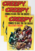 Magazines:Horror, Creepy #1 Group (Warren, 1964) Condition: Average VG.... (Total: 24 Comic Books)