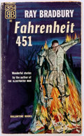 Books:Science Fiction & Fantasy, Ray Bradbury. SIGNED. Fahrenheit 451. New York: Ballantine,1953. First edition. Signed by the author. Appears to be...