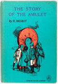 Books:Children's Books, E. Nesbit. The Story of the Amulet. New York: Looking GlassLibrary, [n.d.]. Octavo. 319 pages. Publisher's pictoria...