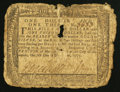 Colonial Notes:Maryland, Maryland December 7, 1775 $1 1/3 Good.. ...