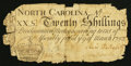 Colonial Notes:North Carolina, North Carolina March 9, 1754 20s Fair.. ...