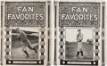 Baseball Collectibles:Others, Circa 1910 Ty Cobb & Christy Mathewson School Notebooks Lot of2....