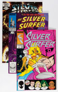 Modern Age (1980-Present):Superhero, Silver Surfer/Quasar Related Short Box Group (Marvel, 1982-96)Condition: Average NM....