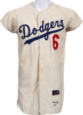 Baseball Collectibles:Uniforms, 1964 Ron Fairly Game Worn Los Angeles Dodgers Jersey....