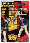Golden Age (1938-1955):Classics Illustrated, Classics Illustrated #74 Mr. Midshipman Easy - First Edition (Gilberton, 1950) Condition: FN+....