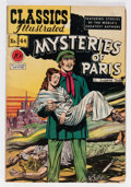 Golden Age (1938-1955):Classics Illustrated, Classics Illustrated #44 Mysteries of Paris - First Edition 1A(Gilberton, 1947) Condition: VG+....