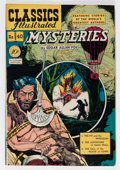 Golden Age (1938-1955):Classics Illustrated, Classics Illustrated #40 Mysteries by Edgar Allan Poe - FirstEdition (Gilberton, 1947) Condition: VG/FN....