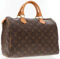 Luxury Accessories:Accessories, Louis Vuitton Classic Monogram Canvas Speedy 30 Bag. ...