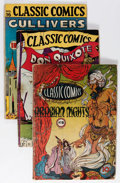 Golden Age (1938-1955):Classics Illustrated, Classic Comics/Classics Illustrated Group (Gilberton, 1943-46)Condition: Average GD+.... (Total: 22 Comic Books)