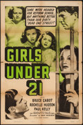 "Movie Posters:Bad Girl, Girls Under 21 (Columbia, R-1950). One Sheet (27"" X 41""). BadGirl.. ..."
