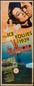 """Movie Posters:Musical, The Ice Follies of 1939 (MGM, 1939). Insert (14"""" X 36""""). Musical.. ..."""